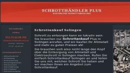 Schrottankauf Solingen