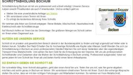 SCHROTTABHOLUNG-BOCHUM