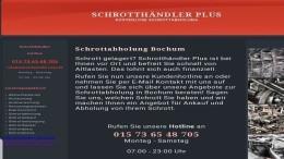 Schrottabholung in Bochum