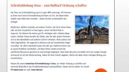 Schrottabholung in Unna - Schrott & Metall, Recycling
