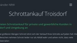 Schrottankauf Troisdorf