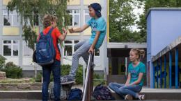 Bebilderung: Jugendliche in der Schule                     Foto: Studienkreis