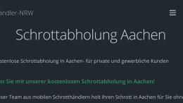 Aachen Schrottabholung