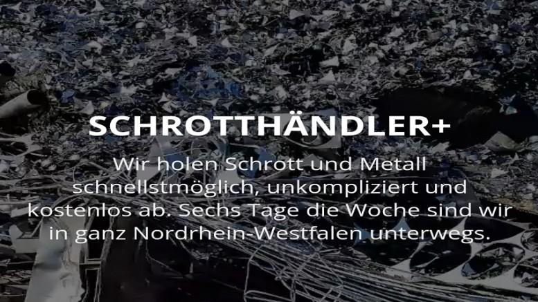 Schrottabholung in Krefeld für Privat- und Gewerbekunden