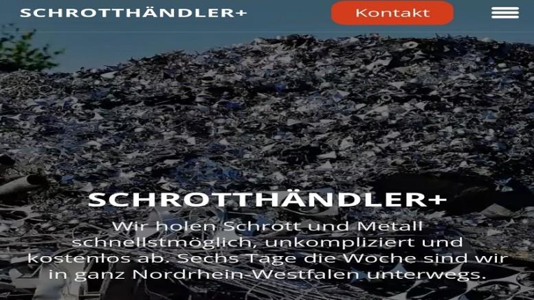 Schrottabholung in Solingen (2)