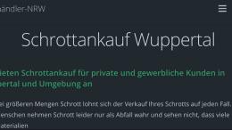 Schrottankauf Wuppertal