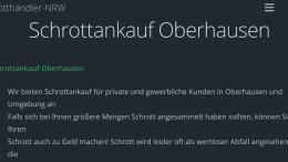 Schrottankauf Oberhausen