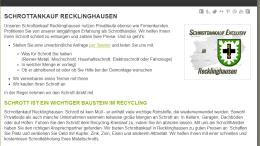 Schrottankauf-Recklinghausen
