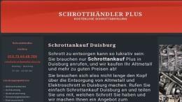 Wir Kaufen Altmetall und Schrott von Ihrem Standort in Duisburg
