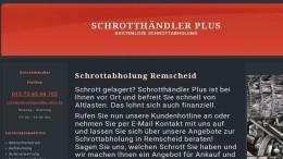 Schrottabholung in Remscheid – Schnelligkeit und bester Service