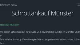 Schrottankauf Münster