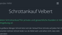 Schrottankauf Velbert